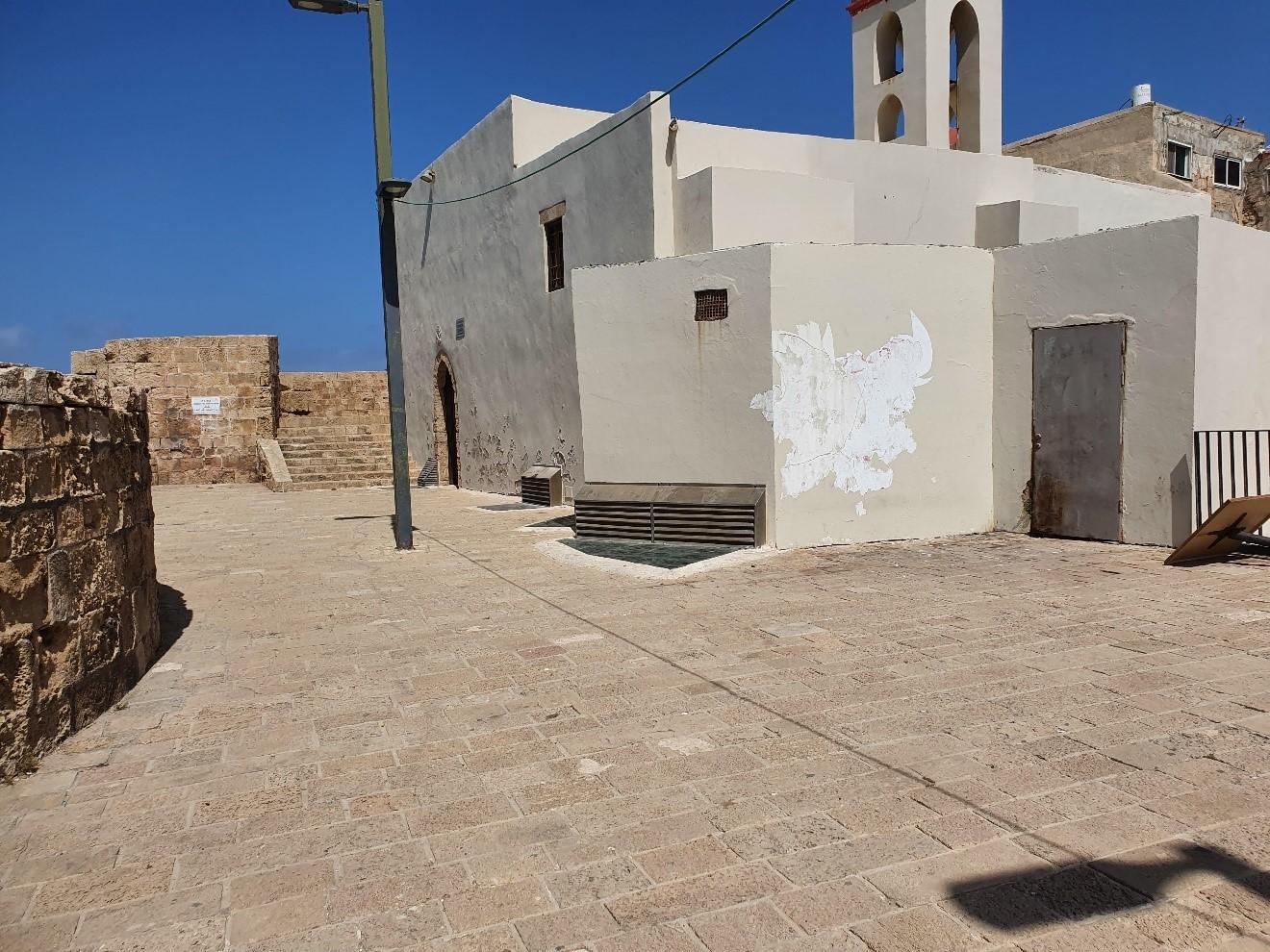 כנסיית סנט גון חומה דרומית
