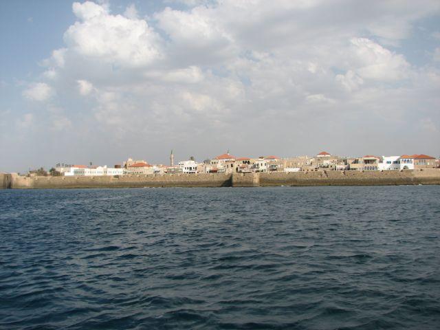 חומת הים העותמניות של עכו